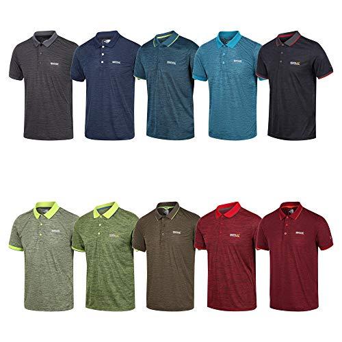 Regatta Mens Remex II Short Sleeve Quick Drying Polo Shirt
