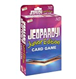 Jeopardy Card Game - Junior Edition - Travel Sized Quiz Competition