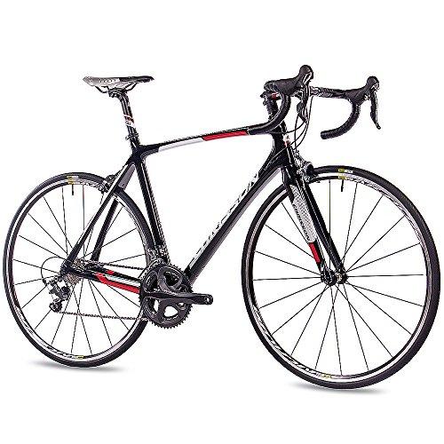 CHRISSON 28 Zoll Profi Rennrad Carbon PRO Road Team mit 20G Shimano ULTEGRA 61 cm