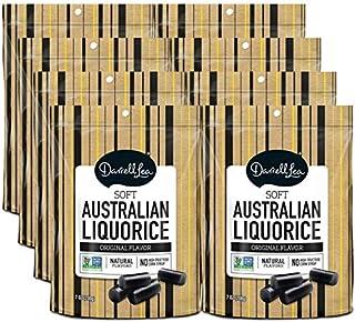 Soft Australian Black Licorice (8-Pack) – Darrell Lea (8) 7oz Bags – NON-GMO,..