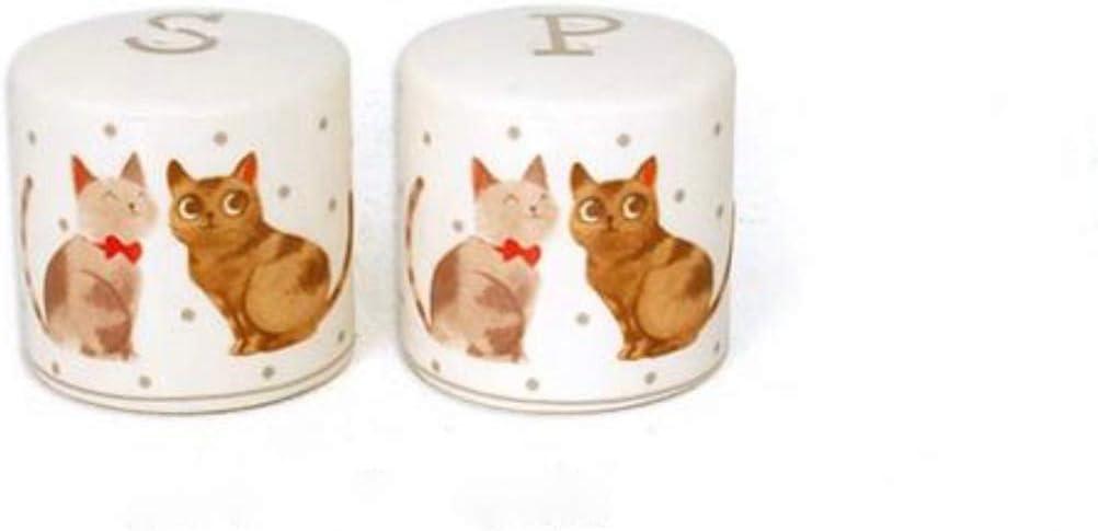 cheap Faye Ceramic Cats Salt Rapid rise Set Pepper Shaker