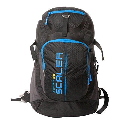 Sincere® Package/Sacs à Dos/Portable/Ultraléger extérieure Alpinisme Sac à Dos/extérieur Sac de randonnée Voyage/avec auvent Noir 35L