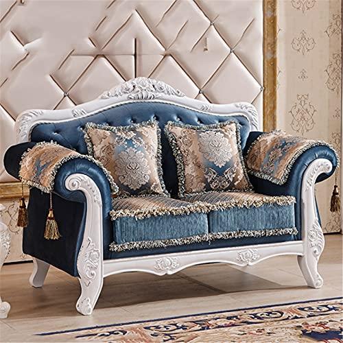 ANYURAN Combinazione di divani in Tessuto, Divano Divano Divano Divano in Tessuto Soggiorno Adatto per camere Ospiti, camere Adolescenti e Piccoli Appartamenti,B
