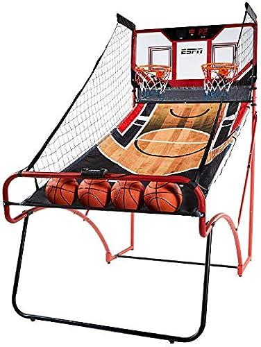 ESPN Basketballspiel für 2 Spieler EZ-Fold Arcade mit LED-Anzeige, 2 Player EZ Fold Basketball Game with Polycarbonate Backboard and LED Scoring
