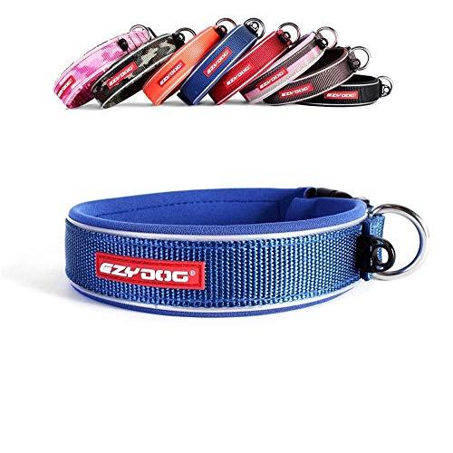 EzyDog Neo - Hundehalsband - Small(34-38cm) - Blau