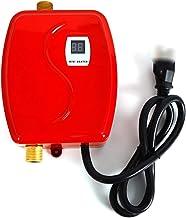 WUPYI2018 Kleine doorstroomboiler, 220 V 3800 W, mini-boiler, elektrische boiler, met lcd-display, voor thuis, badkamer, k...