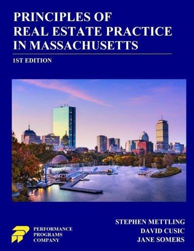 Principles of Real Estate Practice in Massachusetts