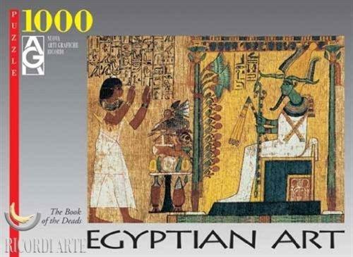Editions Ricordi 2801N15090G - Arte Egizia, Il libro dei morti, Puzzle 1000 pezzi
