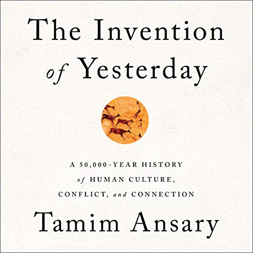 The Invention of Yesterday audiobook cover art