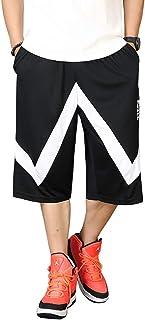 Cartoden 袴パンツ メンズ バスケットボール バスパン ゆったり ハーフパンツ バギーパンツ ヒップホップ 大きいサイズ 通気性 D-20500