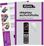 dipos I 6X Schutzfolie klar kompatibel mit Kyocera Torque X01 Folie Bildschirmschutzfolie