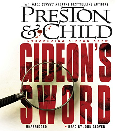 Gideon's Sword audiobook cover art