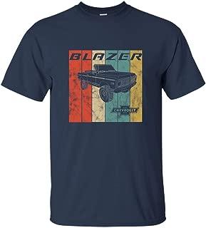 Men's Chevy Blazer Tshirt Retro Vintage 4x4 Off Road Cool Tee