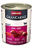 Animonda Gran Carno Hundefutter Adult Probierpack Adult Mix 1, 1er Pack (1 x 6 x 800 g) - 4