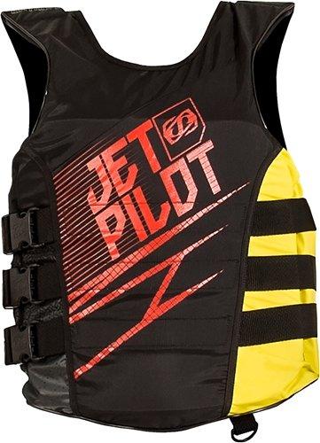 Purchase Jet Pilot Matrix Side Entry Nylon PFD (Large / X-Large, Red / Yellow)