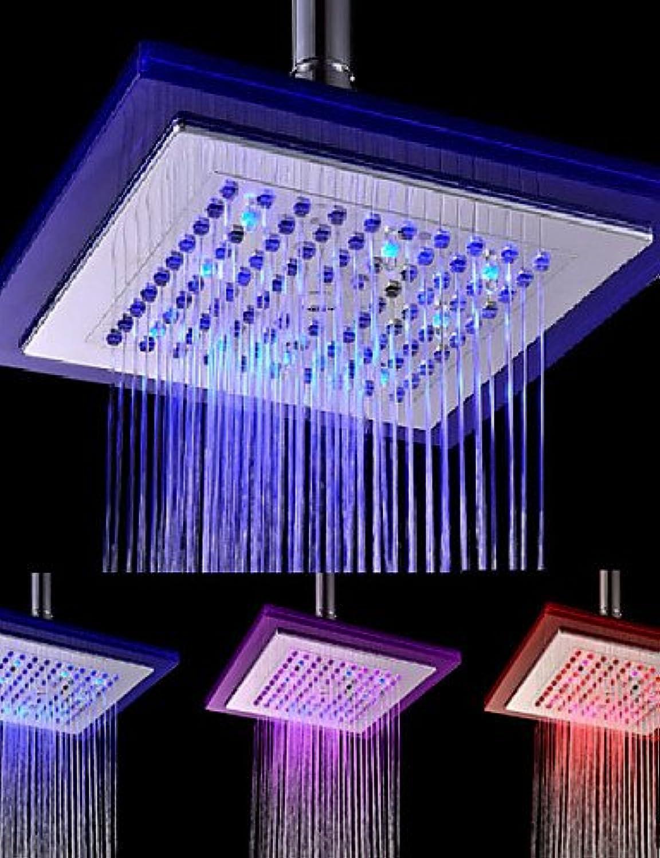 Hus new-arrival modernes galvanisiert Farbe wechselnde LED-Dusche Kopf