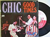 Disco Vinilo - Old vinyl .- CHIC : Good Times; Summer Night