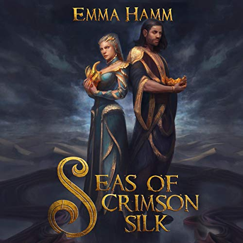 Couverture de Seas of Crimson Silk