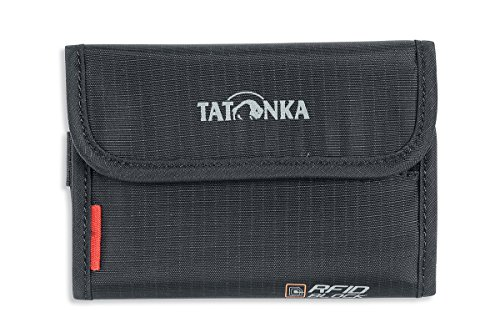 Tatonka Geldbeutel Money Box RFID B, Black, 9 x 13 x 1 cm