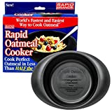 Rapid Oatmeal Cooker | Microwave Instant or Old-Fashioned Oats in 2 Minutes | Perfect for Dorm, Small Kitchen, or Office | Dishwasher-Safe, Microwaveable, & BPA-Free