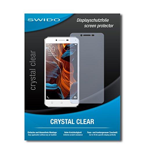 SWIDO Schutzfolie für Lenovo Vibe K5 [2 Stück] Kristall-Klar, Hoher Festigkeitgrad, Schutz vor Öl, Staub & Kratzer/Glasfolie, Bildschirmschutz, Bildschirmschutzfolie, Panzerglas-Folie