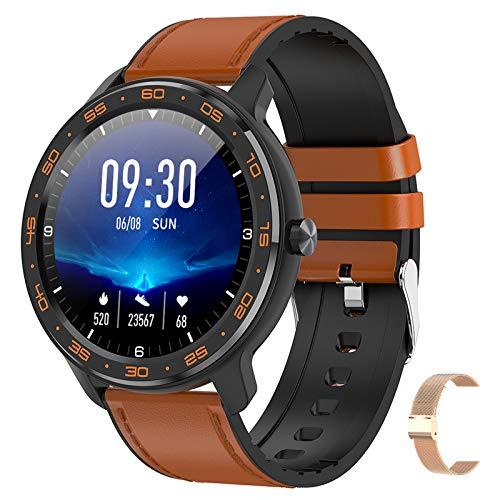 BNMY Smart Watch Sportuhr 1,3-Zoll-IPS-Bildschirm Fitness Tracker IP67 Wasserdichter Schlaf- / Herzfrequenzmonitor Mehrere Sportmodi Kompatibel Mit Android Ios (Give A Random Strap),F