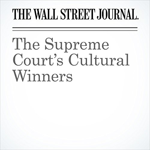 The Supreme Court's Cultural Winners cover art