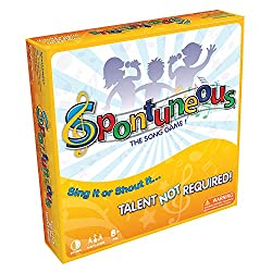 Spontuneous - The Song Game - best toys for 11 year old girls