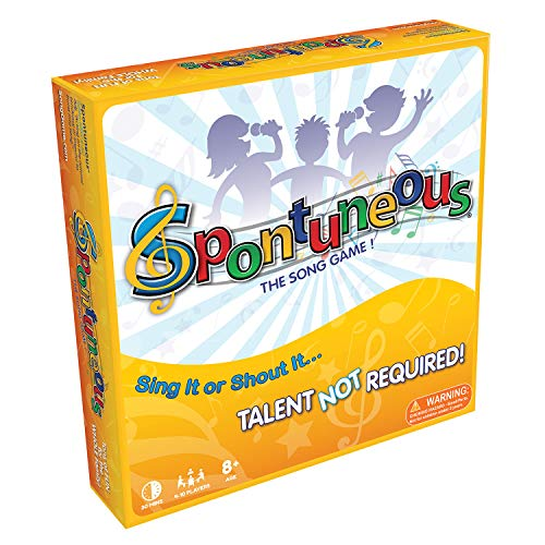5. Spontuneous - The Song Game