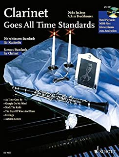 CLARINET GOES ALL TIME STANDARDS CLARINETTE +CD