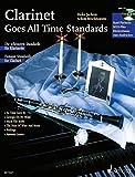Clarinet Goes All Time Standards: Die schönsten Standards für Klarinette. Klarinette; Klavier ad libitum. Ausgabe mit CD. - Achim Brochhausen