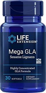 Life Extension Mega Gla with Sesame Lignans, 30 Softgels