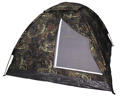 Tente «monodom «quatre pattes urban outdoor militaire taille 210 x 210 x 130 cm
