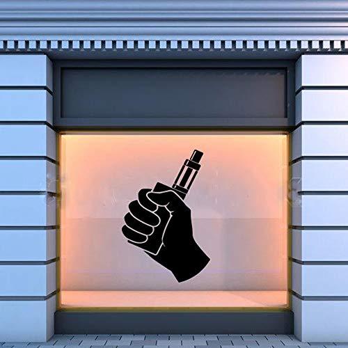 Tianpengyuanshuai Shop Muurtattoos Muursticker Glasdecoratie Behang Shop Logo zelfklevend patroon verwijderbaar