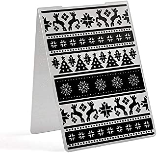 Diamond Candle/Christmas Tree/Happy Birthday Plastic Embossing Folder for Scrapbooking DIY Craft Album Paper Card Decoration (02)