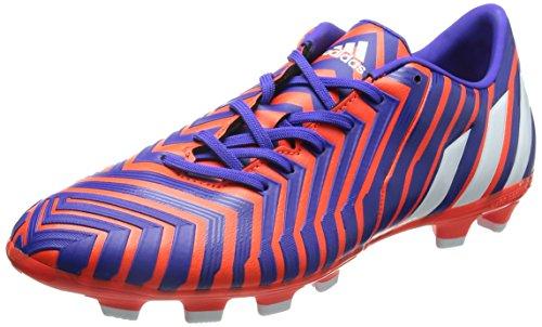 adidas Predator Absolado Instinct HG voetbalschoenen (rood-wit-nacht), maat UK 9.5 (44 EU)