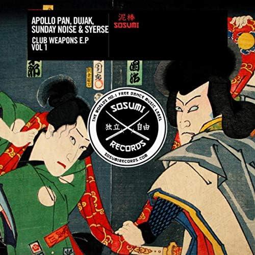 Apollo Pan, Syerse, Sunday Noise & Dujak