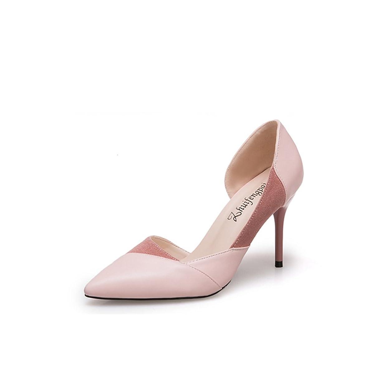 継承どんよりした赤字パンプス 靴 レディース キャバ 8cmヒール シンプルパンプス ハイヒール 無地 通勤 ピンク ベージュ ブラック 黒 靴 パンプス 8.5cmヒール 厚底 ドレス キャバ 小さいサイズ 二次会 パーティー