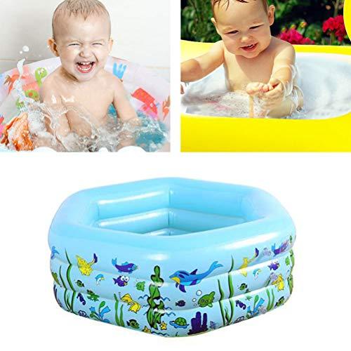 Piscina inflable de los niños Piscina espesar la piscina inflable de la familia para jardín al aire libre patio trasero