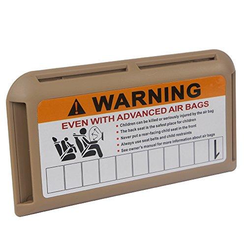 Clip para visera de coche con clip para tarjetas de billetes, soporte temporal, para aparcamiento, teléfono móvil, clip de visera, color beige