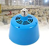 E27 Poultry Pet Heat Lamp,Livestock Heat Lamp,Chicken Coop Heater,Poultry Heat Lamp for Brooders,Lambs,Chickens,Ducks and Pets(Poultry)