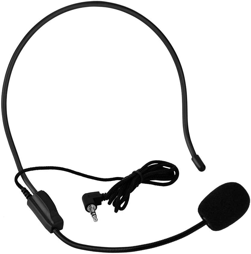 Jimfoty Store Microphone Headset Mini Mic Quality inspection for Stage Teaching Phones