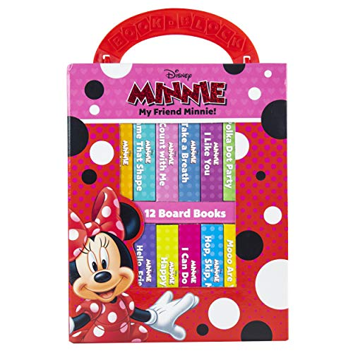Disney - My Friend Minnie Mouse - My First Library 12 Board Book Block Set - PI Kids