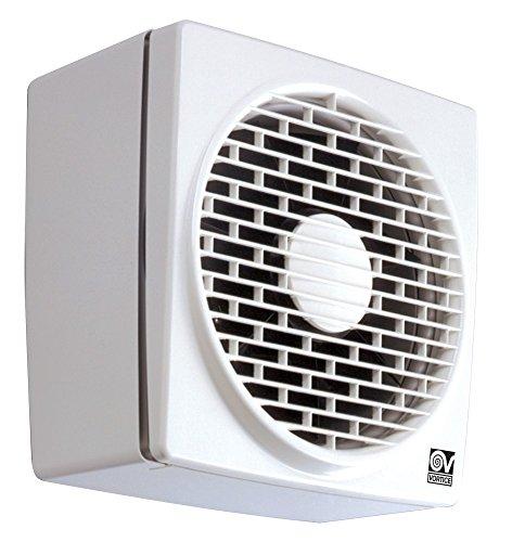 Vortice Abluftventilator, Umkehrbar, 700 m3/h Luftleistung, Fenster-/ Wandmontage, 12455 Vario 230/9 AR LL S