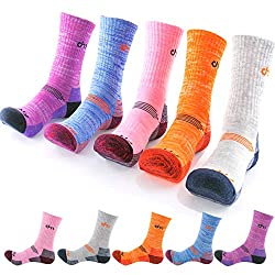 hiking socks in different colours