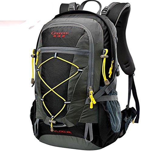 Outdoor randonnée sac à dos ultra léger 40L usure tour d'épaule-voyage sac housse imperméable d'équitation , black 40 litres