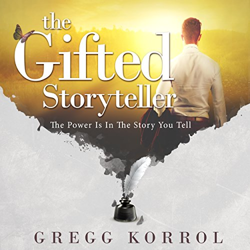 The Gifted Storyteller audiobook cover art