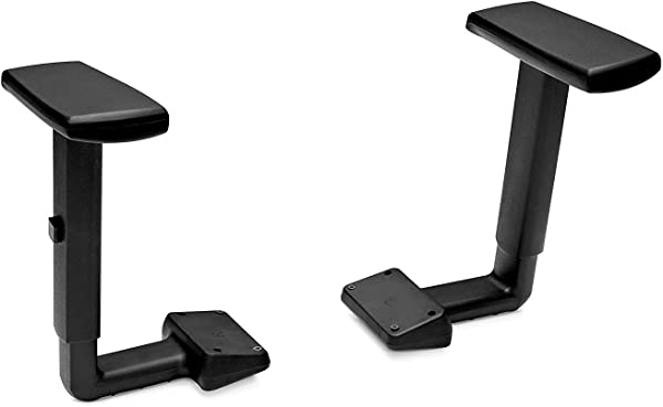 HON Height Adjustable T Arms For Volt Series Task Chair Black 5795T Pack Of 4