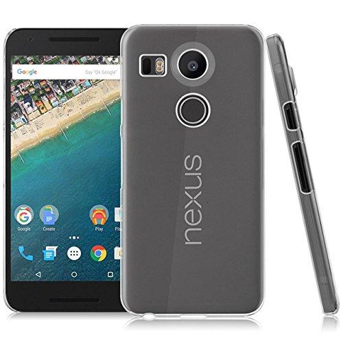 LONVIPI Cover Custodia LG Nexus 5X NUOVO MODELLO 2015 Clear Trasparente Ultra Sottile Silicone Gel Tpu Morbida smartphone GOOGLE NEXUS 5X LONVIPI