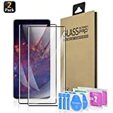 Galaxy Note 10+ Plus/5G Screen Protector, [HD Clear] [Bubble-Free] [Anti-Scratch] [Case Friendly] Tempered Glass Film for Samsung Galaxy Note 10+ Plus, 2 Pack